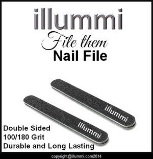 illummi 'file them' Nail Files
