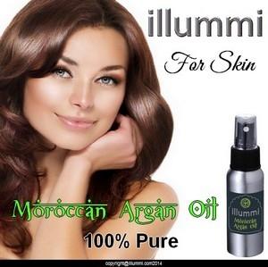 illummi 100% Pure Moroccan Argan Oil for skin