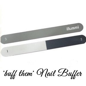 illummi 'buff them' Nail File