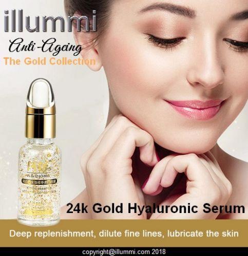 24k Gold Hyaluronic Acid Serum