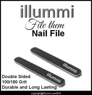 illummi 'file them' Nail Files