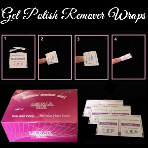 Gel Nail Remover Wraps